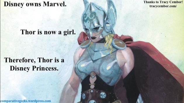 Thor is a Disney Princess.