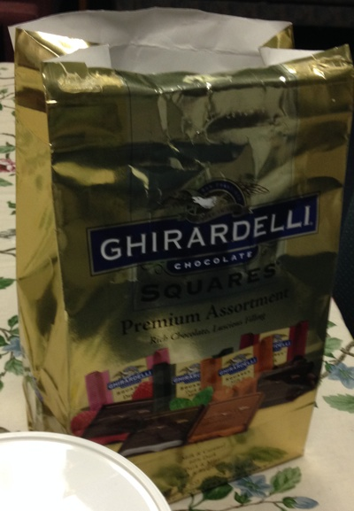 Ghirardelli Bag