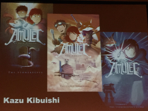 Kazu Kibuishi Presentation - Amulet Covers